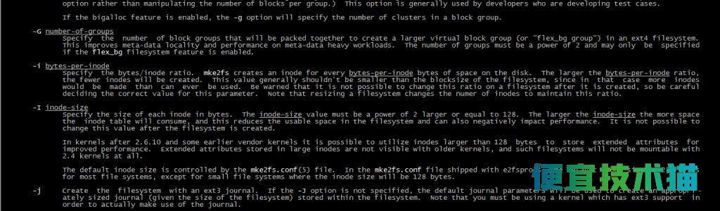 Linux怎么增加修改磁盘分区Inodes的大小